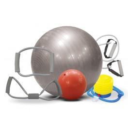 Trening set sa pilates loptom 65 cm