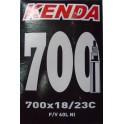 Unutrašnja guma KENDA 622-18/23C 60mm F/V