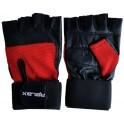 Fitness rukavice kožne sa ojačanim steznikom