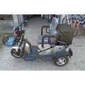 Elektricni invalidski tricikl Sivi