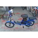 Električni bicikl Model B20 Plava